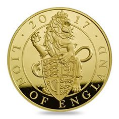This stunning coin weighs just one ounce and features the Lion of England struck in fine gold to Proof standard. Discover the coin and find out more here. Silver Investing, Gold And Silver Coins, Silver Bars, Foreign Coins, Coin Design, Mint Coins, Gold Stock, Coins For Sale, Mint Gold