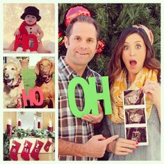 Christmas Card Ideas for the Family with Unique Props & Signs – Z Create Design