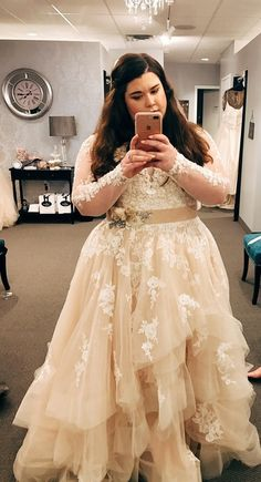 7ed5e2646a6 r weddingplanning - I had the most amazing experience at a plus-size bridal  boutique. My dress was the second one I tried on!
