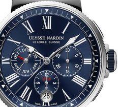 Ulysse Nardin Marine Chronograph Annual Calendar - Хронограф с календарем от…