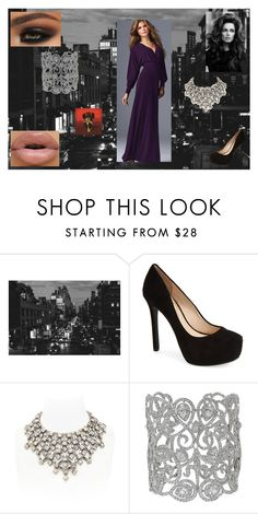 """""""Date Night Dress: Bruce Banner"""" by chesney-kuper ❤ liked on Polyvore featuring Jessica Simpson and Simon Harrison"""