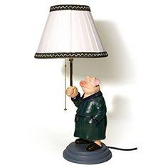 Lámpara con forma de cerdo de la película Amelie