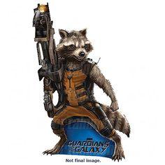 Hucha Rocket Raccoon EE Exclusive 25 cm. Guardianes de la Galaxia Estupenda hucha exclusiva del protagonista mapache Rocket Raccoon 100% oficial y licenciada visto en la película Guardianes de la Galaxia.
