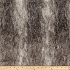 Amazon.com: Faux Fur Canadian Fox Stone Fabric By The Yard