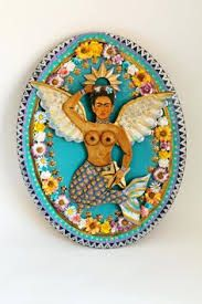 frida kahlo mermaid - Google Search