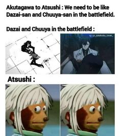 Dazai Bungou Stray Dogs, Stray Dogs Anime, Funny Dogs, Funny Memes, Tsurezure Children, Group Of Dogs, Haikyuu, Animal Crossing, Funny Pictures