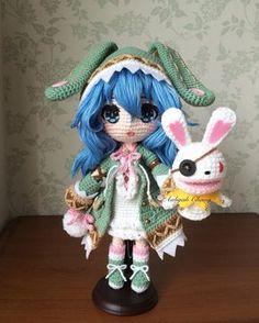 "787 Likes, 32 Comments - Aaliyah Chang (@aaliyahchang) on Instagram: ""約會大作戰 四糸乃 #約會大作戰 #四糸乃 #四糸奈 #doll #dolls #crochetdoll #amigurumi #craft #handmade #毛線娃娃 #編織 #編みぐるみ…"""