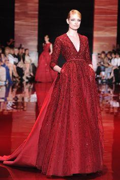 Elie Saab at Paris Haute Couture Fashion Week | Fall 2013