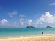 Lanikai Beach, Kailua, Oahu, Hawaii.