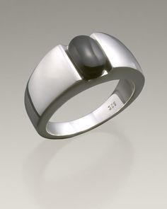 sterling silver simply sable womens ash ring