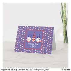 4th Of July Fireworks, Fourth Of July, Create Your Own, Create Yourself, Happy 4 Of July, Custom Greeting Cards, Zazzle Invitations, Red White Blue, Thoughtful Gifts