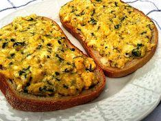 Vajíčková nátierka starej mamy (fotorecept) - Recept Quiche, Appetizers, Breakfast, Food, Morning Coffee, Appetizer, Essen, Quiches, Meals