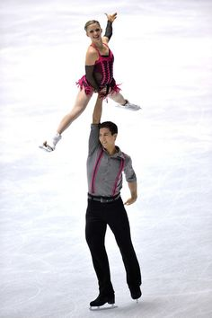 Paige Lawrence and Rudi Swiegers of Canada  pair short program   2013/2014 NHK Trophy,Pairs costume inspiration for Sk8 Gr8 Designs