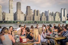Looking for the city's best waterfront restaurants? NYC is packed with riverside spots and on-the-beach eateries.