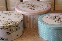 Katie Alice Cake storage tins set of 3 | eBay