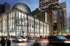 new york's fulton center transit hub topped with giant sky reflector-net