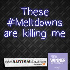 These #Meltdowns are killing me  I hate meltdowns and how hard they are on everyone  https://www.theautismdad.com/2016/11/10/these-meltdowns-are-killing-me/  Please Like, Share and visit our Sponsors  ‪#‎Autism‬ ‪#‎AutismSpectrum‬ ‪‪‪#‎AutismAwareness‬ ‪#‎AutismParenting‬ ‪#‎Family‬ ‬ ‪#‎SpecialNeedsParenting‬ ‪ ‪#‎Ohio‬ ‪#‎SpecialNeeds‬ ‪#‎Parenting‬ ‪#‎ParentingAdvice‬ ‪#‎Parenthood‬ ‪#‎SPD‬ ‪