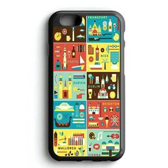 World Map Icon iPhone 7 Case