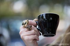 rebecca thomson - fashion designer in Melbourne Melbourne Coffee, Class Ring, Engagement Rings, Fashion Design, Jewelry, Women, Enagement Rings, Wedding Rings, Jewlery