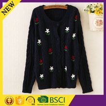 Machine knit best quality cheap price china cute 100% cotton women sweater  Best Seller follow this link http://shopingayo.space
