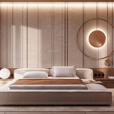 Bedroom Wall Designs, Bedroom Furniture Design, Home Room Design, Master Bedroom Design, Master Bedroom Interior, Home Decor Bedroom, Modern Bedroom, Master Bedrooms, Bed Frame Design