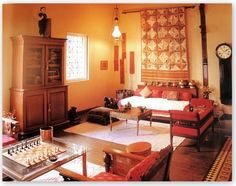 Hindu Home Decor | From one of my favorite Indian design coffee table book