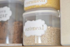 sarah m. dorsey designs: Pantry Makeover with the help of my Silhouette