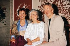 Emma Thompson, her mother and Alan Rickman