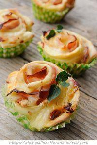 Rose al prosciutto ricetta antipasto veloce vickyart arte in cucina