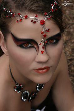 Fire Fairy Mode: Imogen Lewis Make-up: Jayne Webb Photographer: SJWebb Photography