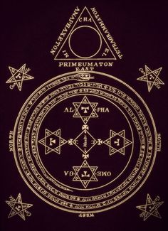 Sacred Geometry Meanings, Sacred Geometry Art, Alchemy Symbols, Magic Symbols, Elemental Magic, Aleister Crowley, King Solomon, Occult Art, Wiccan