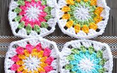 Sunburst Granny Square – Free Pattern