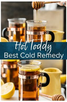 Whiskey For Colds, Tea For Colds, Good Whiskey, Whiskey Drinks, Coffee Drinks, Pina Colada, Hotty Toddy Drink, Best Cold Remedies, Natural Remedies For Cold