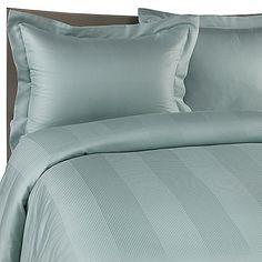 Eucalyptus Origins™ Tencel® Fiber Duvet Cover Set In Ocean   - might match the feature wall???