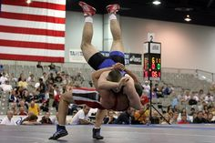 Wrestlers, College, Males, Athletes