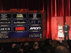 Conheça os indicados ao Oscar 2013