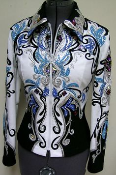 want want want  Equestrian  Horse Show Showing Western Bling Jacket
