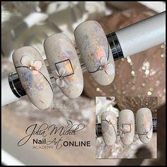 70 Simple Winter Nail Art Ideas for Short Nails 3d Nails, Cute Nails, Pretty Nails, Best Acrylic Nails, Acrylic Nail Art, Winter Nail Art, Winter Nails, Nail Art Wheel, Airbrush Nails
