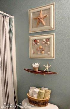 Nautical Bathroom Beach Bathrooms Theme Ideas Beachy Decor