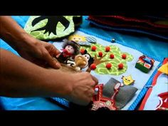 My fifth quiet book for Timmy 1 - YouTube