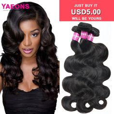 7A Brazilian Body Wave 3 Bundles Brazilian Virgin Hair Body Wave Yaeons Hair Products Human Hair Brazilian Hair Weave Bundles