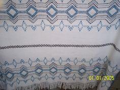 Swedish (huck) Weaving