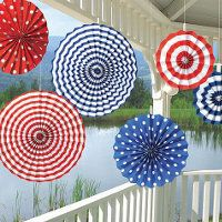 Party City fans, transferable to nautical theme?