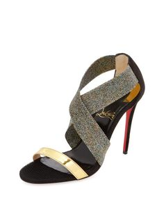 Elastagram Specchio Sandal by Christian Louboutin at Gilt