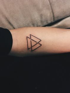 My first real triangle tattoo