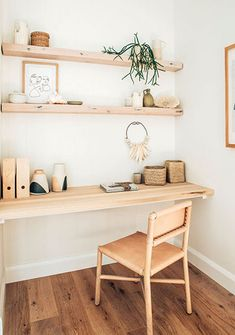Long Jetty Renovation Study Nook Reveal Workplace organization for freelancers. If you looking for organization ideas for work at home, look at here. workplace home office ideas workplace organization Office Nook, Home Office Space, Office Workspace, Home Office Desks, Home Office Furniture, Office Decor, Office Ideas, Small Office, White Office