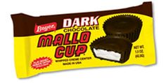 I have always loved Mallo Cups....just hard to find now.