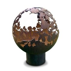 Handmade Leaf Fire Ball | Sphere Fire Pit | Fireball – Coast & Country Store