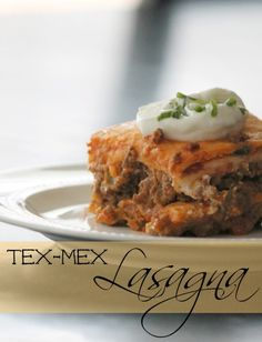 Tex-Mex Mexican Lasagna - so simple and oh-so good! Plus, coupon matchups for the Target, Kroger and Publix sales ads this week. Yum!