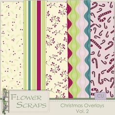 Christmas Overlays Vol.2 - $3.99 : Digital Scrapbooking Studio